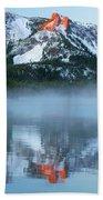 Paulina Lake Reflections Bath Towel