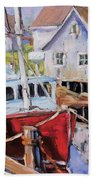 Peggy S Cove 02 By Prankearts Bath Towel