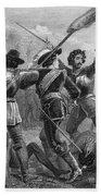 Pequot War, 1636-3 Bath Towel
