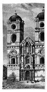 Peru: Jesuit Church, 1869 Bath Towel