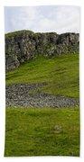 Peter's Stone - Derbyshire Bath Towel