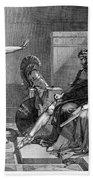 Phaedra And Hippolytus Bath Towel