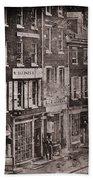 Philadelphia 1843 Bath Towel