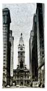 Philly - Broad Street Bath Towel