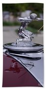 Pierce Arrow Hood Ornament Bath Towel