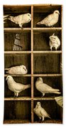 Pigeon Holed Bath Towel