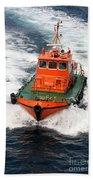 Pilot Boat - Dardanelles-canakkale Bath Towel