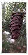 Pine Cone Bath Towel