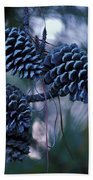 Pine Cones Bath Towel