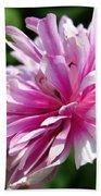 Pink Anemone From The St Brigid Mix Bath Towel