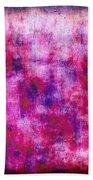 Pink Blueberries Bath Towel