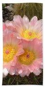 Pink Cactus Bath Towel