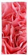 Pink Carnation Bath Towel