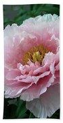 Pink Peony Flowers Series 2 Bath Towel