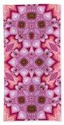 Pink Splash Mandala Abstract Bath Towel