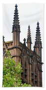 Pinnacles Of St. Mary's Cathedral - Sydney Bath Towel