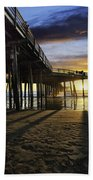 Pismo Beach Pier IIi Bath Towel