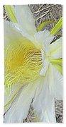 Pitaya Flower Bath Towel