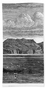 Pitcairn Island, 1879 Bath Towel