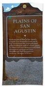 Plains Of San Agustin Bath Towel