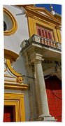Plaza De Toros De La Maestranza - Seville  Bath Towel