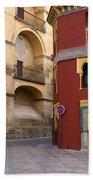 Plaza Del Triunfo In Cordoba Bath Towel