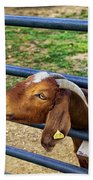Please Exonerate Me - Billy Goat Bath Towel