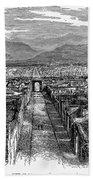 Pompeii: Ruins, C1880 Bath Towel