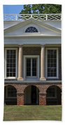 Poplar Forest From The South Lawn Bath Towel