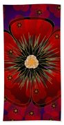 Poppies 2012 Bath Towel