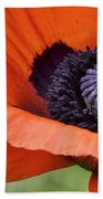 Poppy For Peace Bath Towel