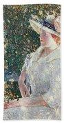 Portrait Of Miss Weir Bath Towel