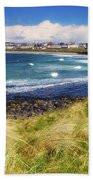 Portrush, Co Antrim, Ireland Seaside Bath Towel