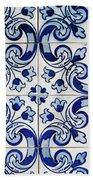 Portuguese Azulejo Bath Towel