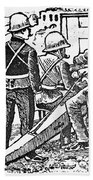Posada: The Artillerymen Bath Towel