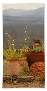 Pots And Vista Bath Towel