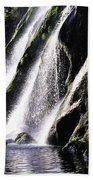 Powerscourt Waterfall, Co Wicklow Bath Towel