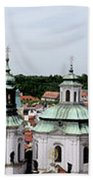 Prague Panorama Bath Towel