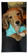 Precious Puppy Bath Towel