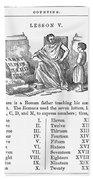 Primer: Roman Numerals Bath Towel