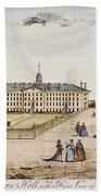 Princeton College, 1764 Bath Towel
