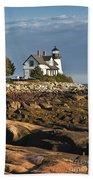 Prospect Harbor Lighthouse Hand Towel