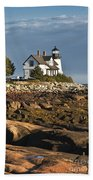 Prospect Harbor Lighthouse Bath Towel