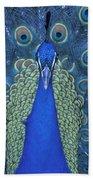 Proud Peacock Bath Towel