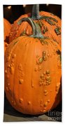 Pumpkinville Bath Towel