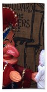 Punch And Judy Bath Towel