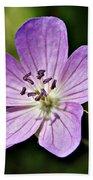 Purple Flower 1 Bath Towel