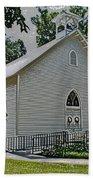 Quaker Church Pencil Hand Towel