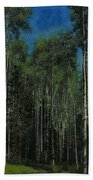 Quaking Aspens Bath Towel