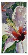 Radiant Light - Hibiscus Bath Towel